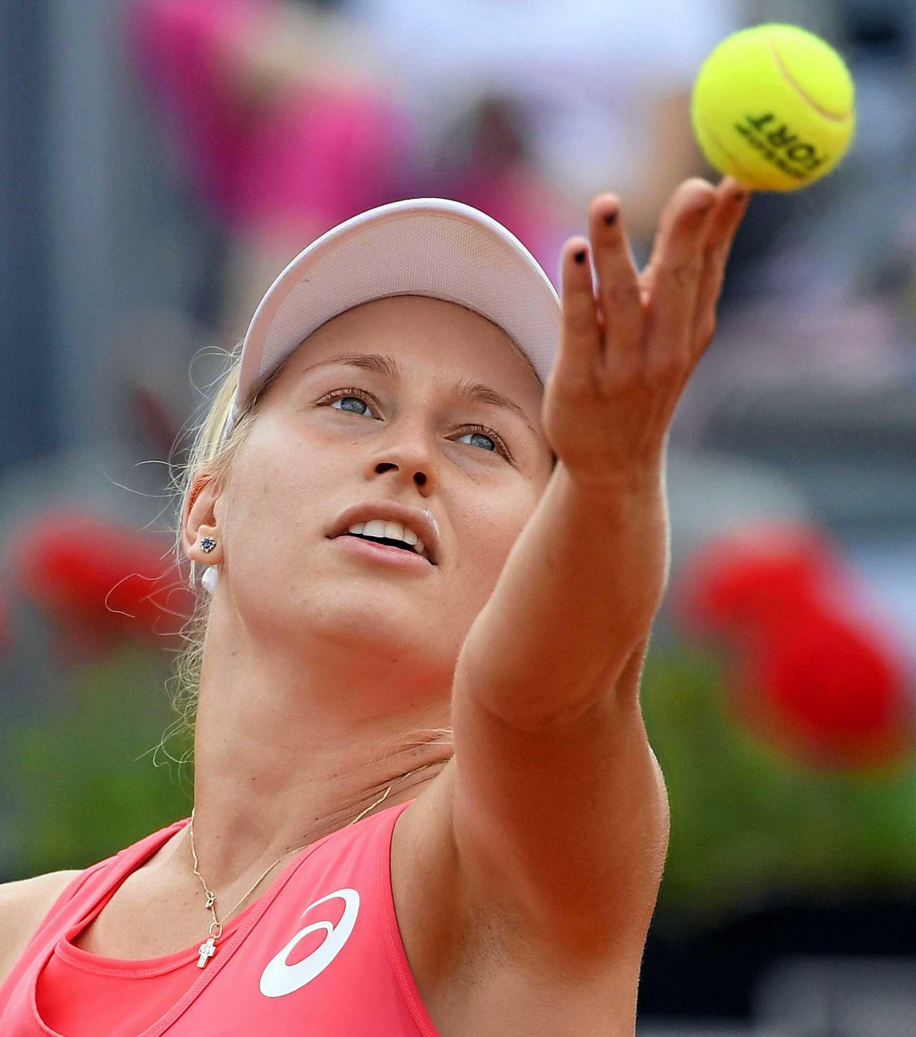 Australian tennis player Daria Gavrilova.