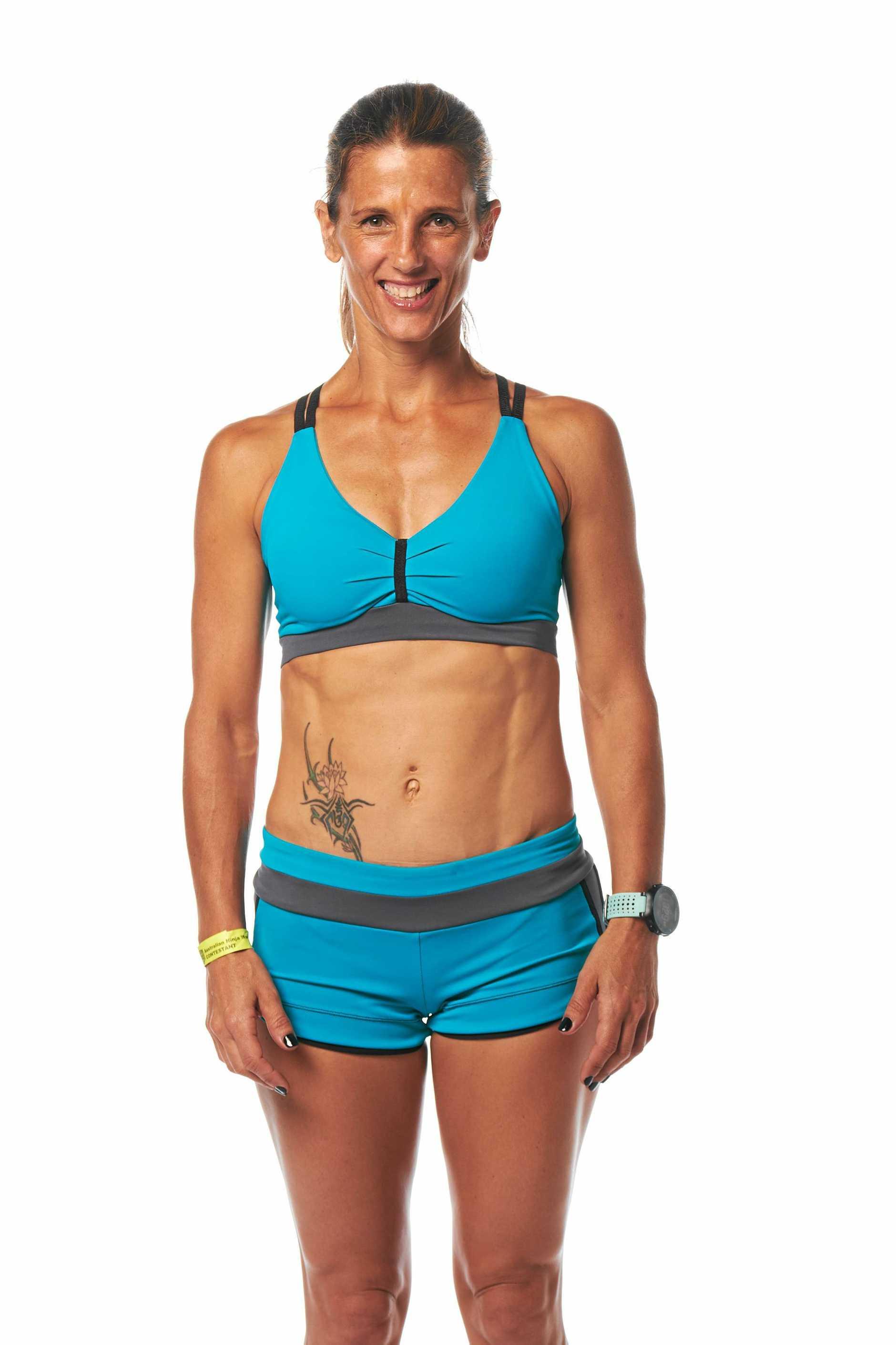 BANGALOW: Upcoming TV Series Ninja Warrior contestant Lisa Parkes.