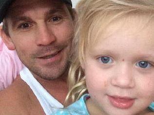 Shaun Berrigan with daughter Imogen.