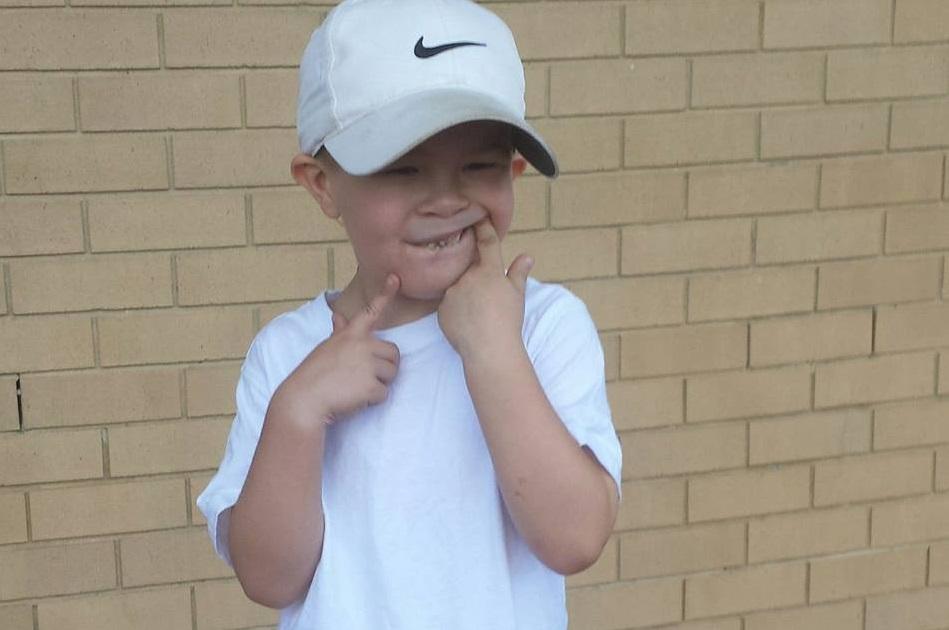 Xavier Grayson, 7, has autism and