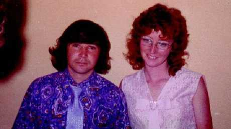 Abattoir worker Katherine Knight (R) who was convicted of the 2000 murder of de facto husband John Price in Aberdeen.Source:News Limited
