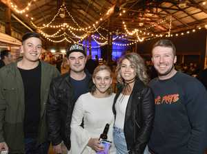 Toowoomba residents party at pop-up nightly market