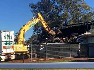 Bunya Park stand finally demolished