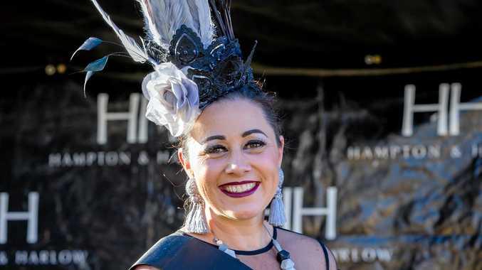 Races - Fashions of the Field Kikki Watt winner headwear
