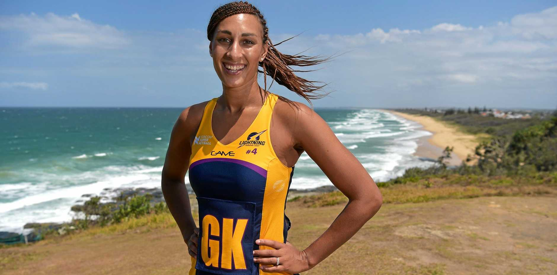 CAPTAIN: Sunshine Coast Lightning leader Geva Mentor.