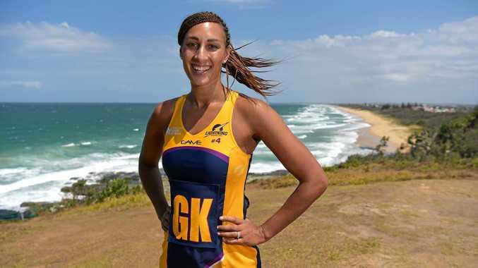 CAPTAIN: Sunshine Coast Lightning leader Geva Mentor.