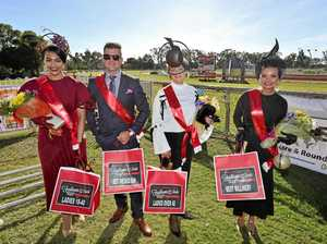 Splash of red at Rockhampton Cup race day