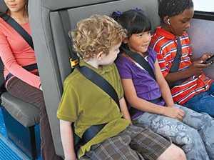 Strap in for seatbelt bonanza on school buses
