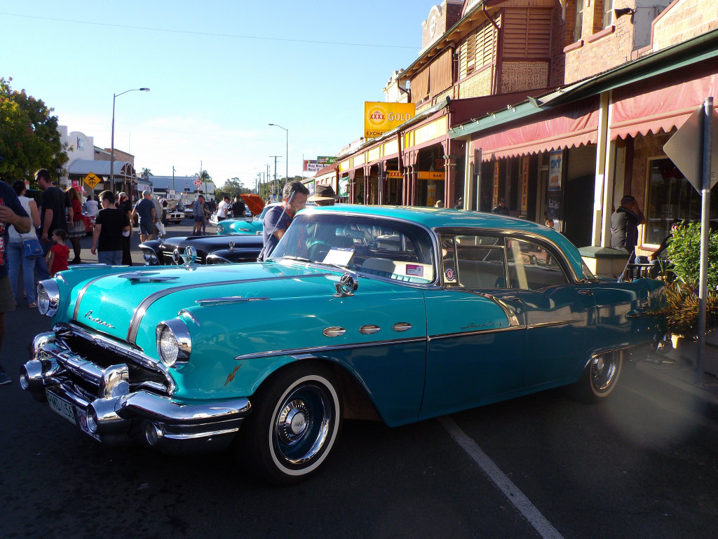 Vintage car at Laidley\'s Chrome and Clutter Retro Festival at ...