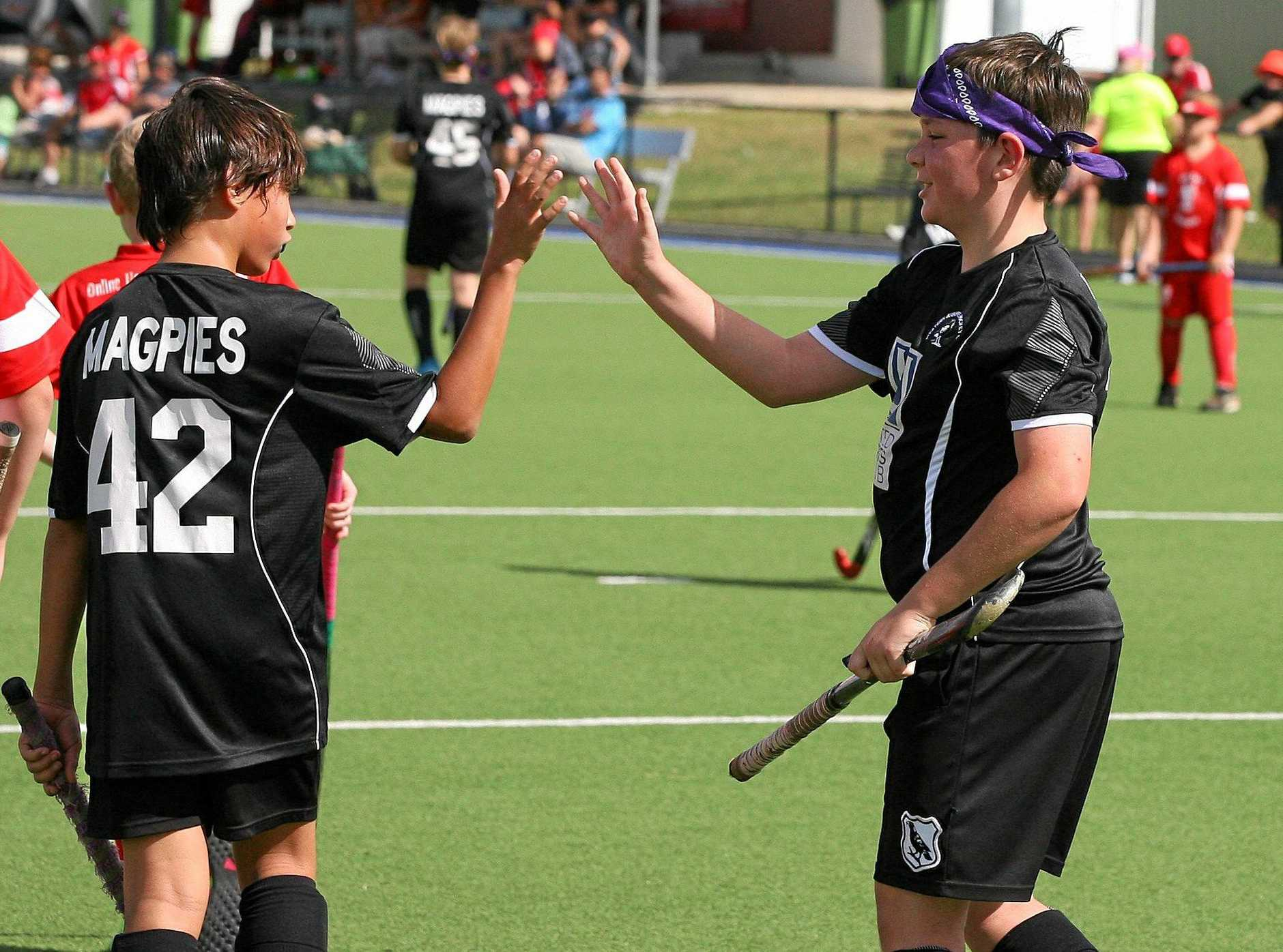 WELL DONE: Wests' junior and senior hockey players are hoping to celebrate more success in this year's Ipswich finals after some promising development work.