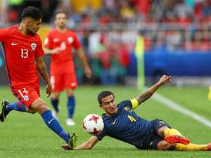 Socceroos match it with Chile in Moscow