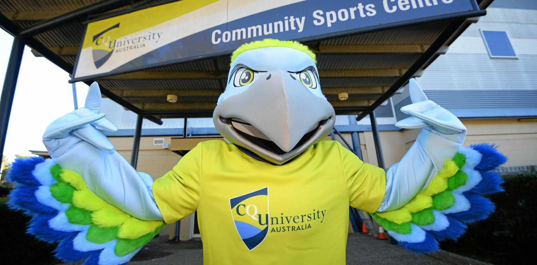 CQUniversity reveals its so far unnamed 2017 Northern University Games mascot.