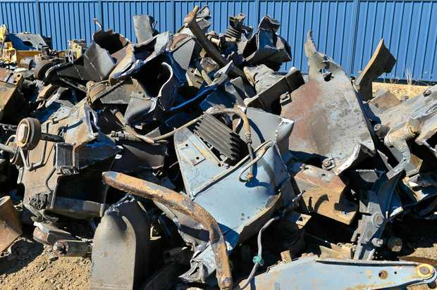 NEW LOCATION: There will be a bigger scrap metal facility in Gladstone next week.