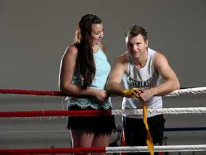 Jo's standing by her man for the big fight