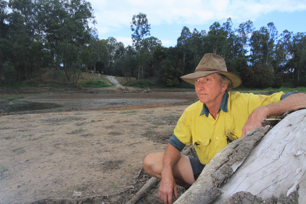 TIME TO PLAN: Tiaro cattle farmer Ron Black says getting a biosecurity plan in place is now a priority.
