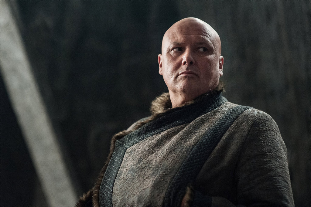 Conleth Hill in a scene from season 7 of Game of Thrones.