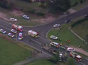 Driver killed as car and truck collide on SEQ highway