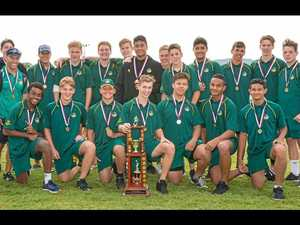 The 15 years Met West rugby league team that was undefeated on its way to winning the State Championships.