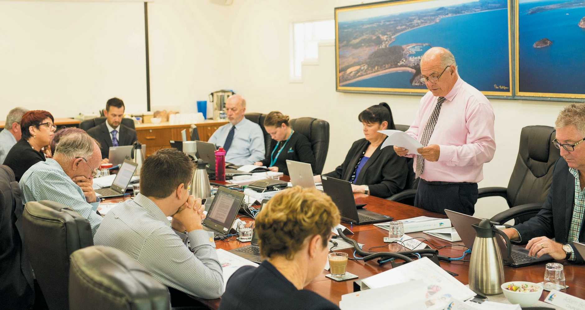 RATES WORRIES: Livingstone Shire mayor Bill Ludwig talks about the 2017-18 budget.