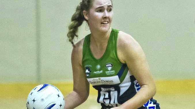 ON COURT: Mia Stower in action for the Darling Downs Panthers.