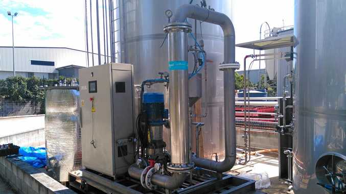 FOOD ENERGY: Trisco Foods is piloting an anaerobic membrane bioreactor, world-first technology Aquatec Maxcon is using to turn food waste into energy.