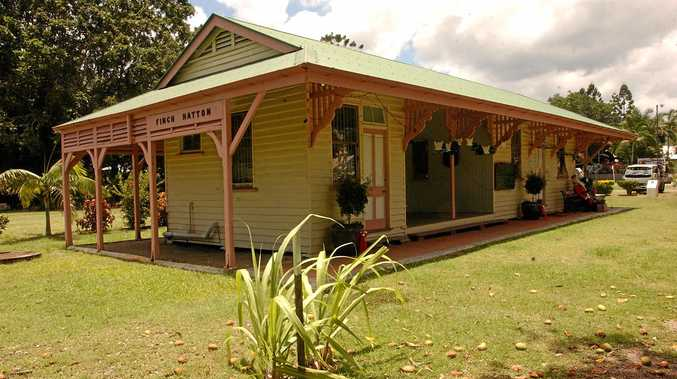 Finch Hatton railway station may be returned to service