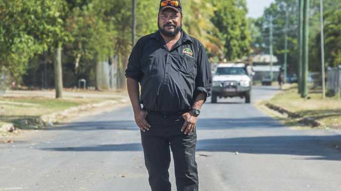 "Kowanyama mayor Michael Yam says his town is in the grip of a ""mental health crisis"". Picture: Brian Cassey."