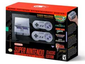 Nintendo set to release the Super NES Classic Edition