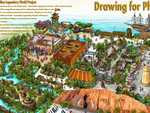 An artist's impression of Songcheng's proposed Nerang theme park.