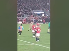 A MAN who streaked across the pitch in the final seconds of an All Blacks test match is fundraising to cover a possible $5000 fine.