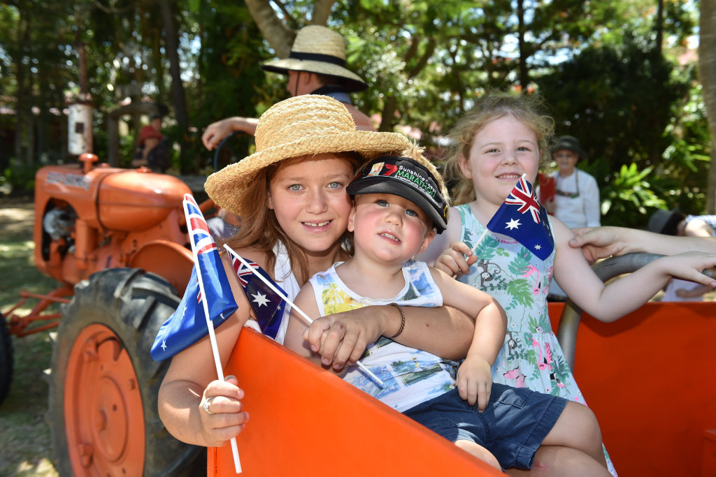 The Hervey Bay Historical Village and Museum hosts many fun events for the Fraser Coast community during the year, including Australia Day celebrations.