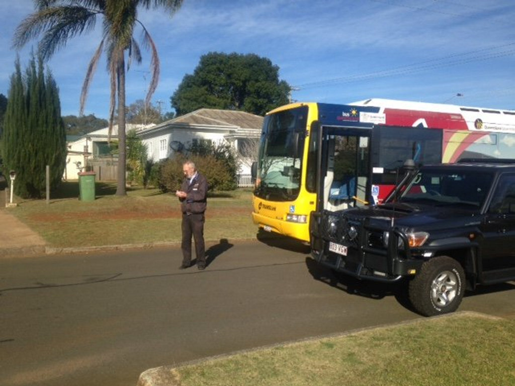 Residents in Avondale St, Newtown are angry that their street has been included in the new bus route. The bus was forced to stop in the small street after it could not make its way past parked cars.