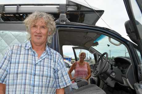 VICTIMS: German's Petra and Gerd Storz had thousands in cash stolen.