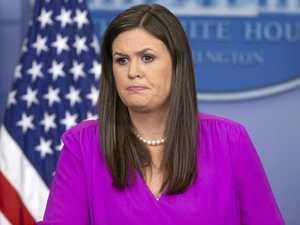 White House secretary rips CNN despite apology, sackings