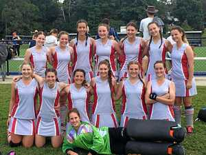 U18 girls top their division at State Hockey Titles