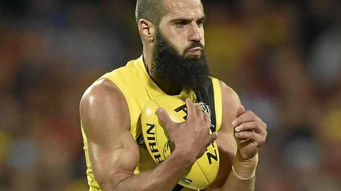 Bachar Houli has been the centre of controversy in the AFL.