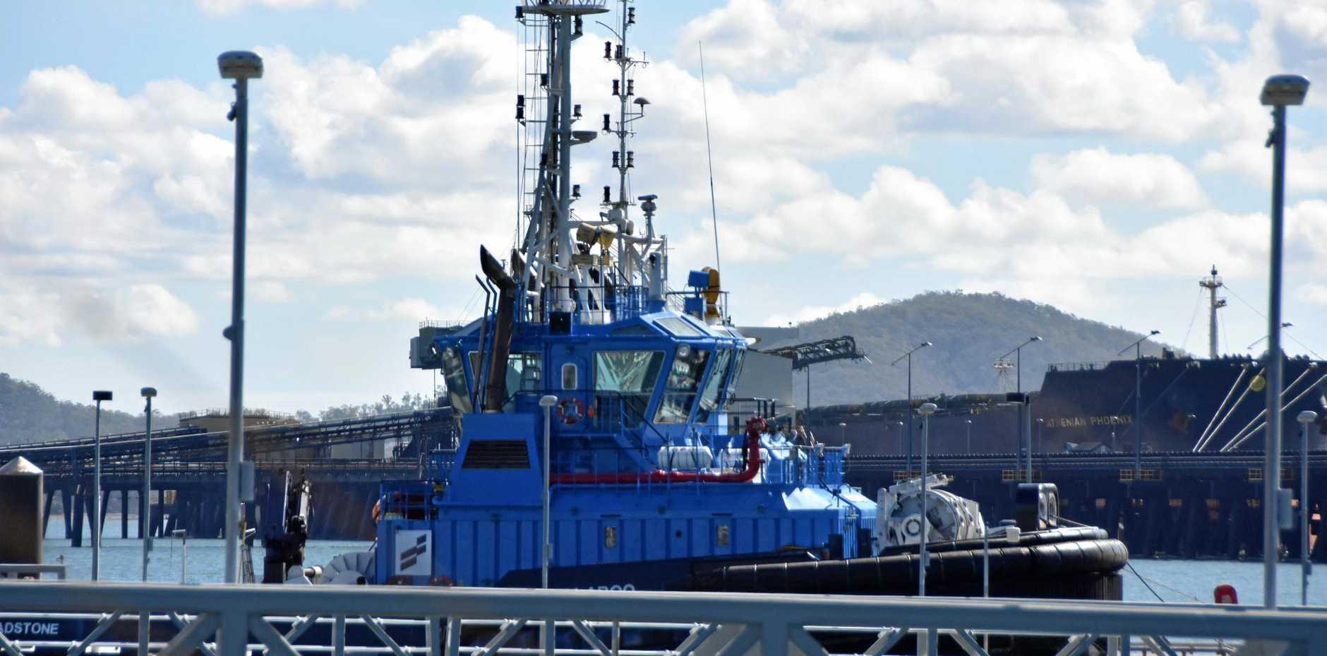 THE Tug ship Kullaro in the marina.