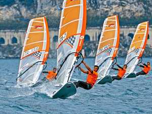 Spring windsurfers expected to rip up Mooloolaba