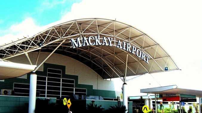 Mackay Airport.