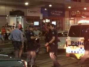 Three charged over assult of police officer