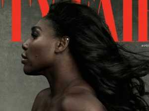Pregnant Serena Williams nude on cover of Vanity Fair