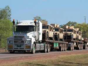 Mass military vehicles seen on Northern roads
