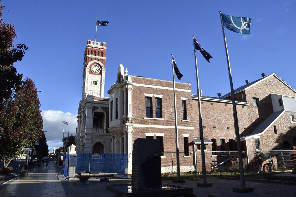 Toowoomba City Halll. TRC. Toowoomba council. Toowoomba, Ruthven Street. June 2017