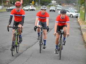 Warwick trio in road team ride this weekend