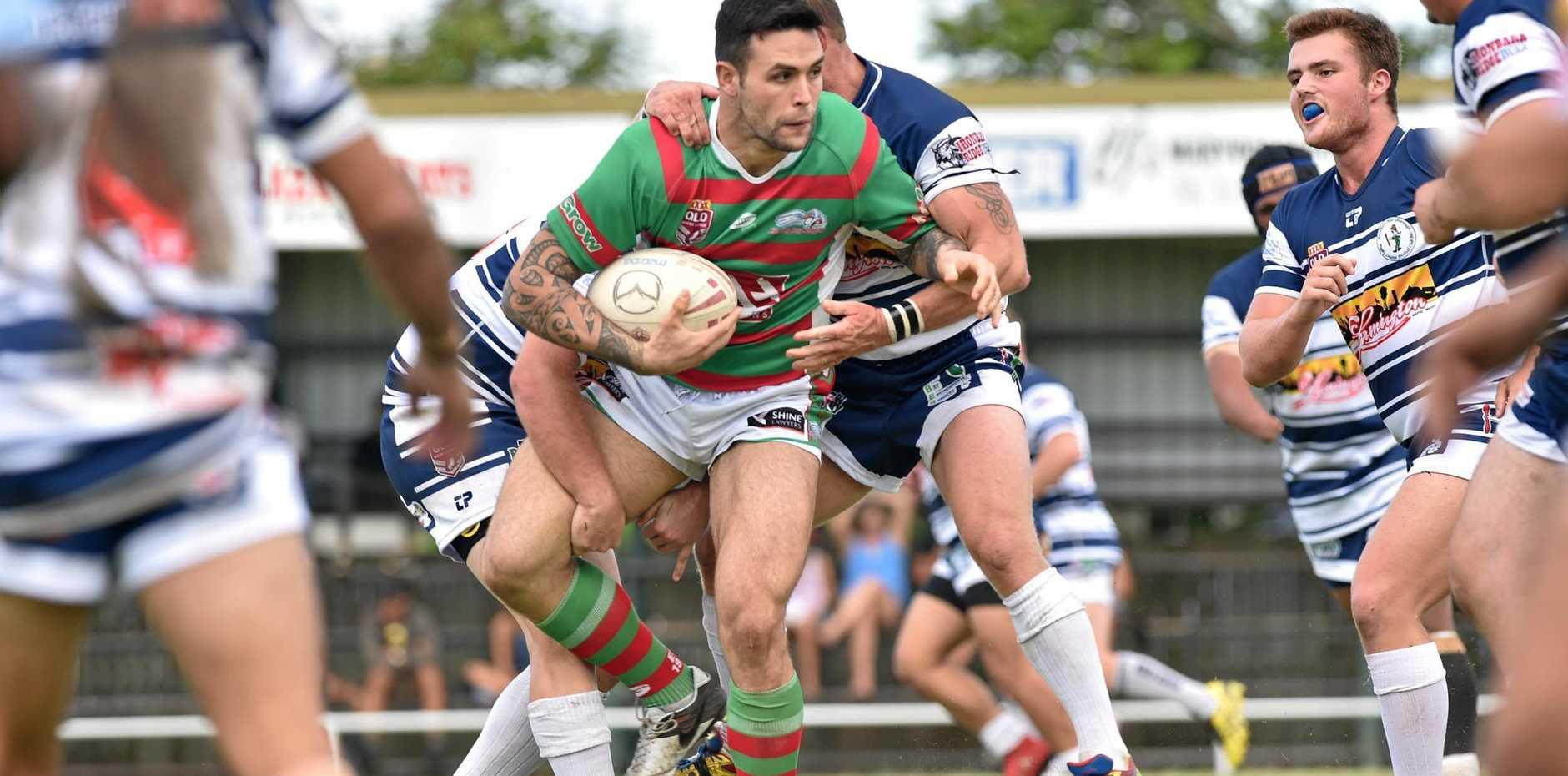 Rugby League - Seagulls V. Brothers. Jai Ingram(Seagulls).