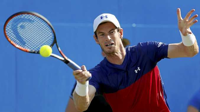 TOP MAN: Andy Murray, chasing a third title, heads into Wimbledon as the top seed.