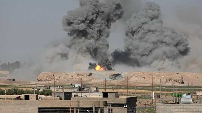 Attacks by Coalition forces on Islamic State's Syrian stronghold of Raqqa have killed at least 173 civilians this month.