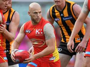 MILESTONE MAN: Gold Coast Suns midfielder Gary Ablett is expected to play his 300th AFL game this weekend.