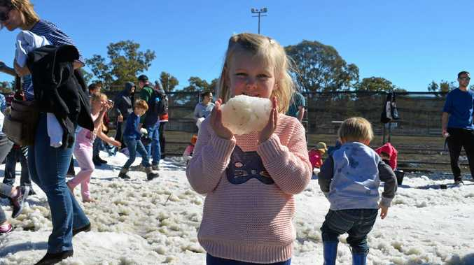 SNOW MUCH FUN: Take the family to Snowflakes in Stanthorpe this weekend.
