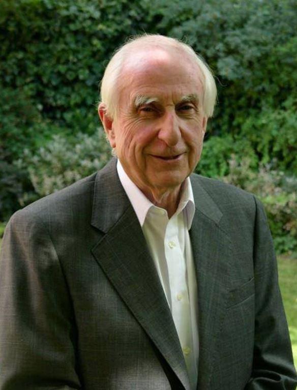 Paddington Bear creator Michael Bond.